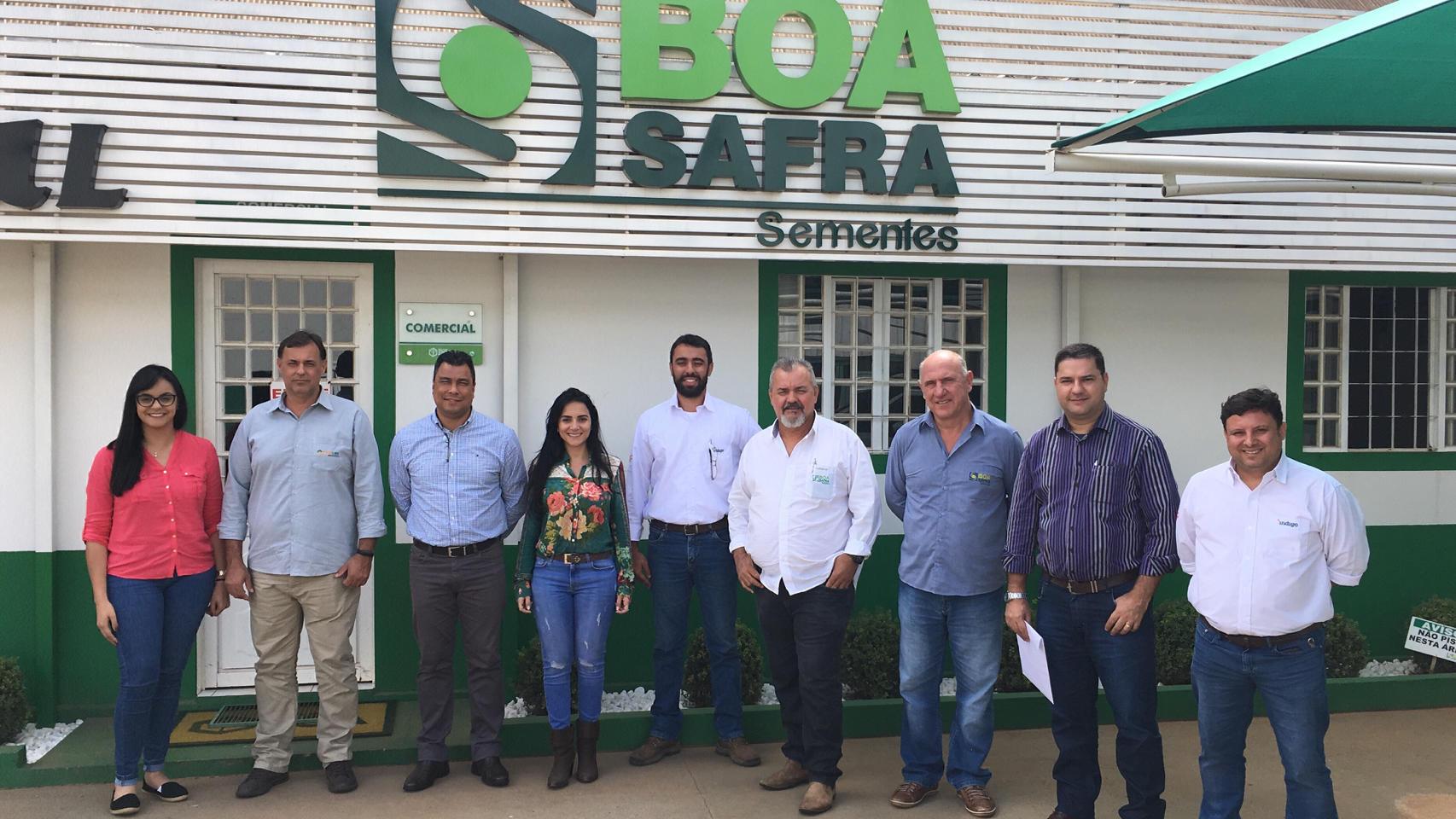 Boa Safra recebe visita de parceiros