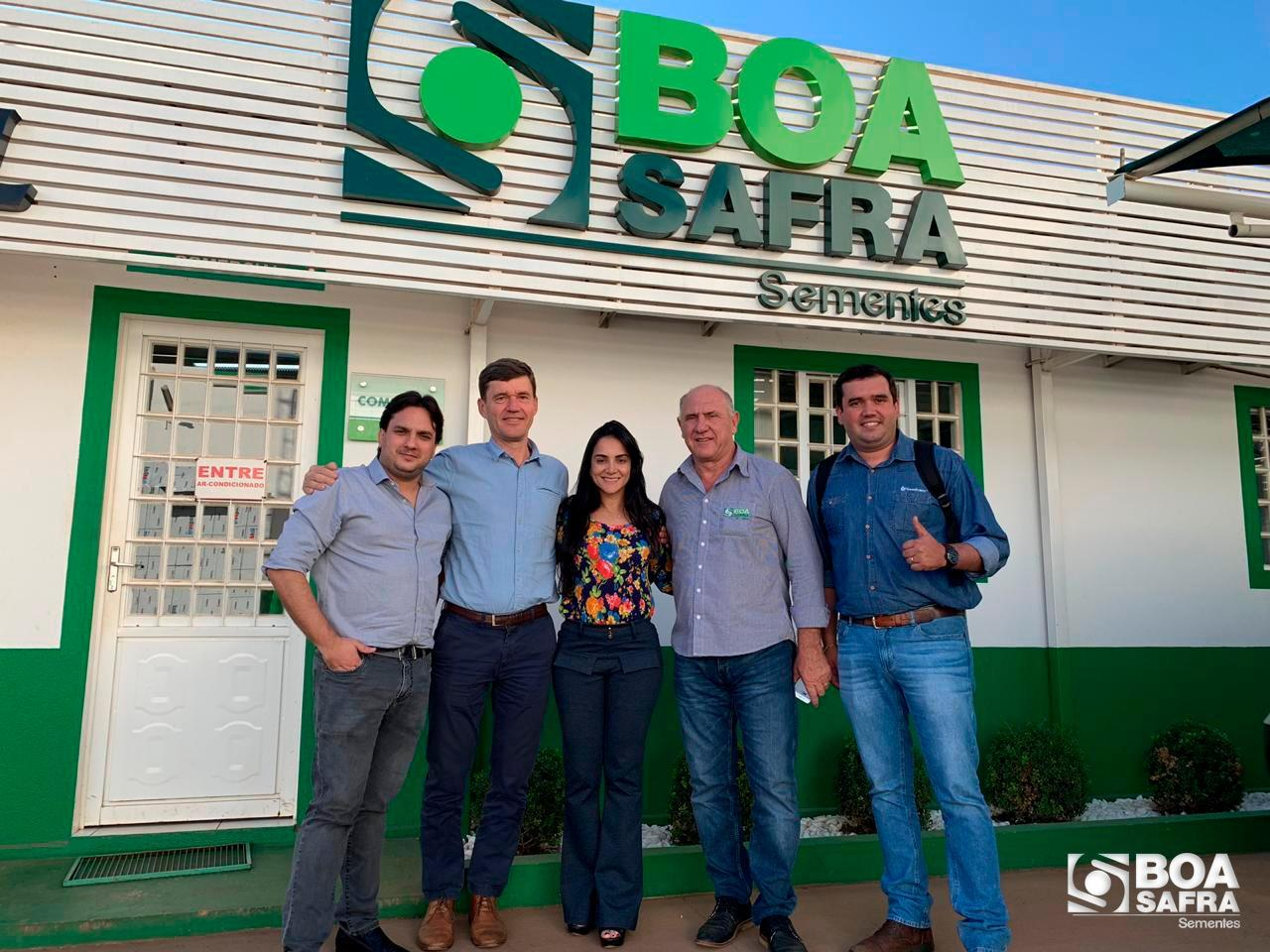 Boa Safra recebe visita do Head Seedcare BR/LATAM, François Burghgraeve