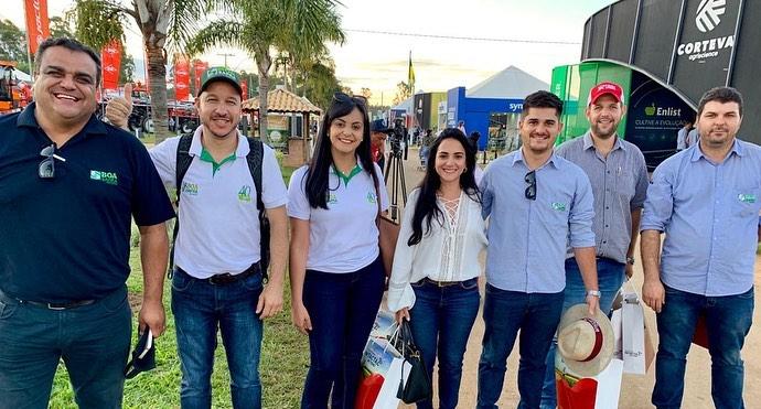 Equipe da Boa Safra visita AgroBrasília