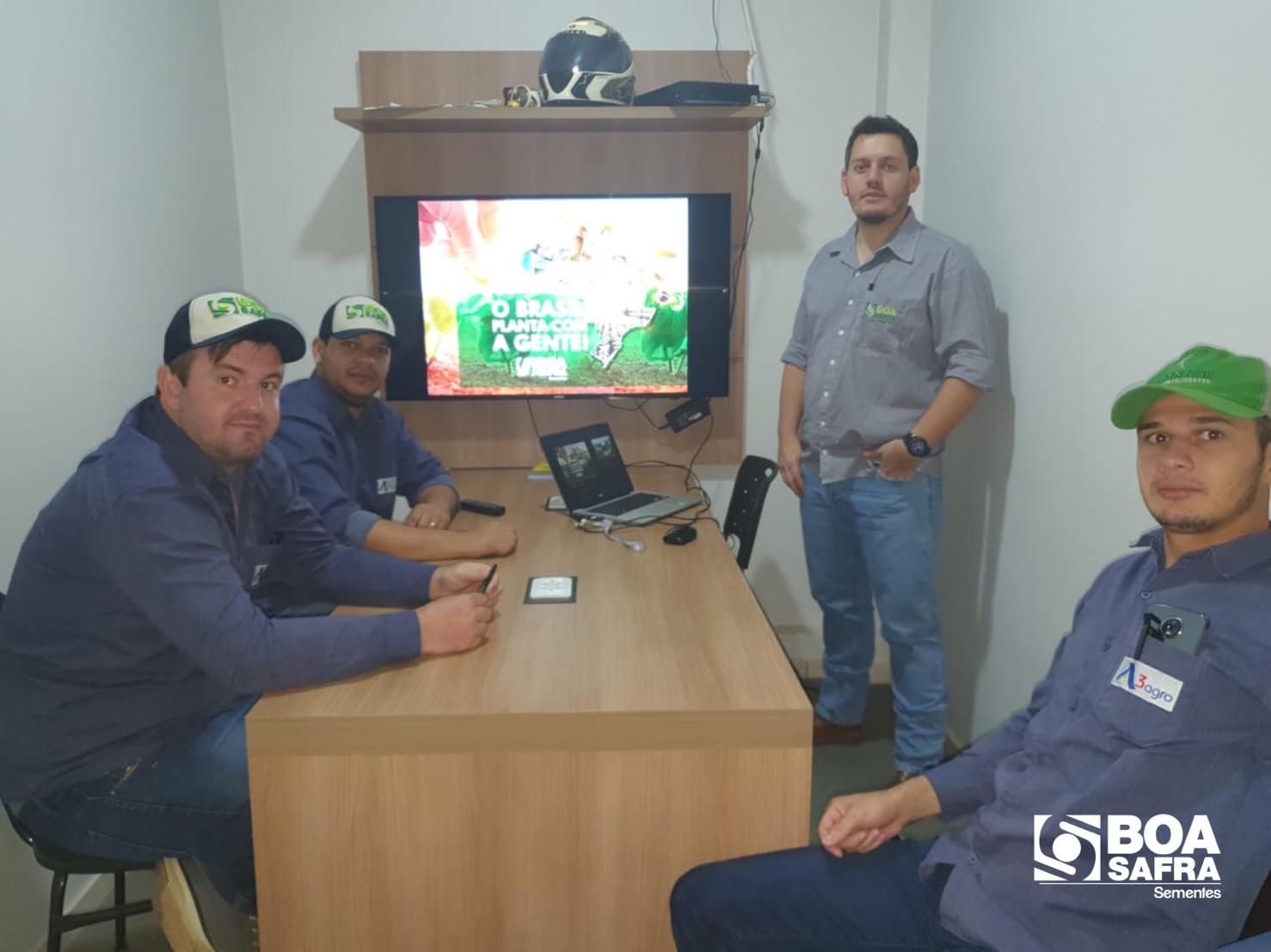 Boa Safra fecha parceria com a revenda A3 Agro, em Balsas/MA