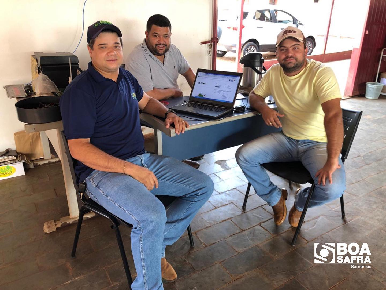 Boa Safra fecha negócios com produtor em São Gabriel d'Oeste/MS