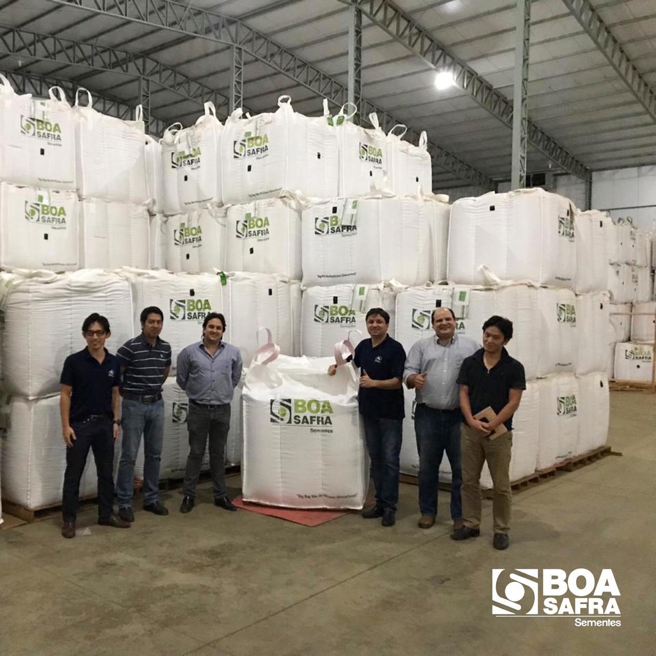 Boa Safra recebe visita da Sumitomo Corporation do Brasil S.A