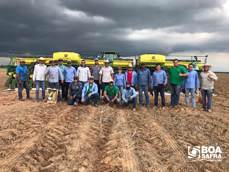 Boa Safra participa do plantio do dia de Campo da Agro Cataratas, em Redenção/PA