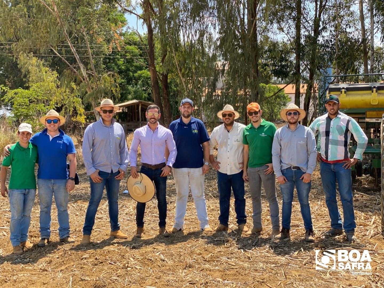 Boa Safra acompanha plantio do Dia de Campo da revenda AgroCanassa, em Silvânia/GO