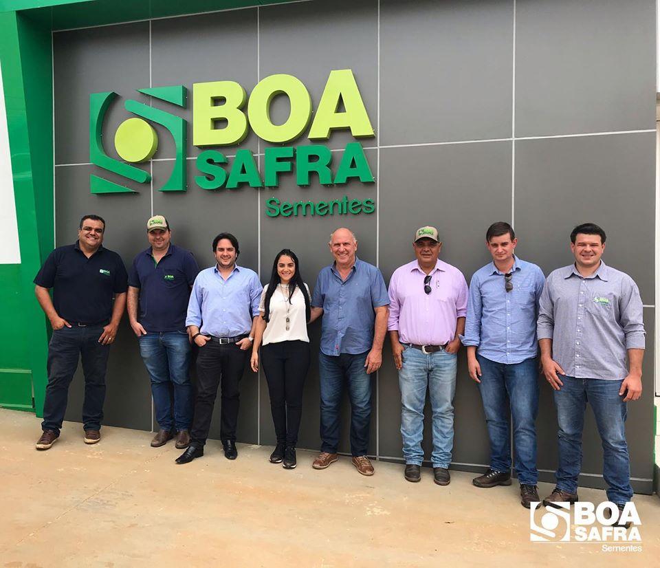 Boa Safra recebe visita dos diretores da FertiAGRO