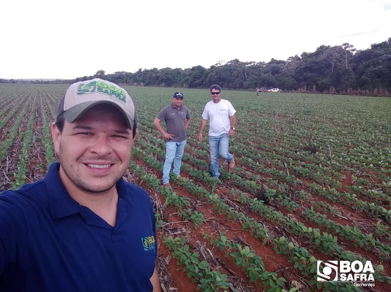 Boa Safra acompanha plantio do produtor Marcos Mosconi, em Querência/MT