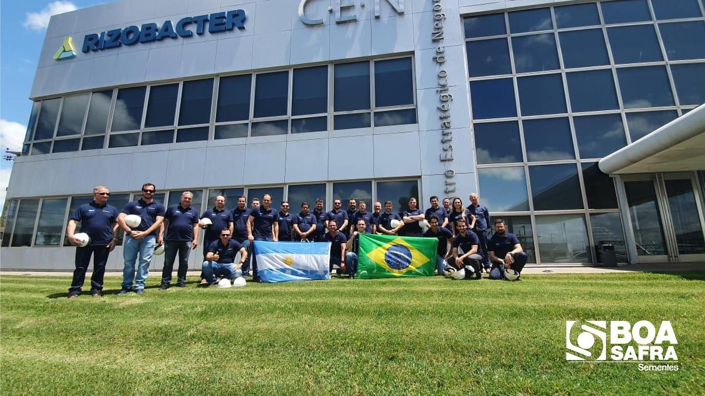 Boa Safra visita sede da Rizobacter em Pergamino/Argentina