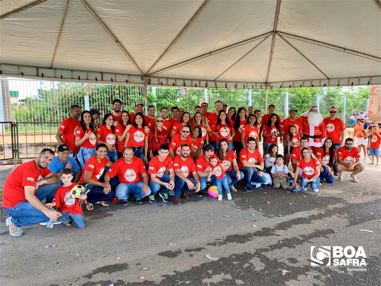 Boa Safra realiza Natal Solidário em Formosa/GO