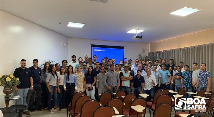 """Boa Safra participa de treinamento sobre """"Práticas de Controle de Qualidade de Sementes"""", ministrado pela Dra. Maria de Fátima Zorato"""
