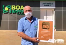 Boa Safra recebe atestado de qualidade por lotes comercializados acima de 90% de germinação