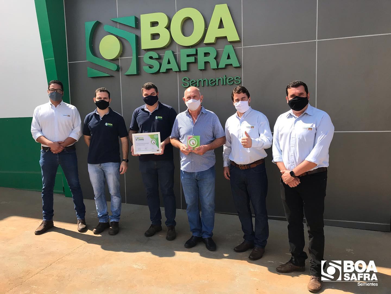 Boa Safra recebe certificação de Tratamento Excelente da Syngenta.