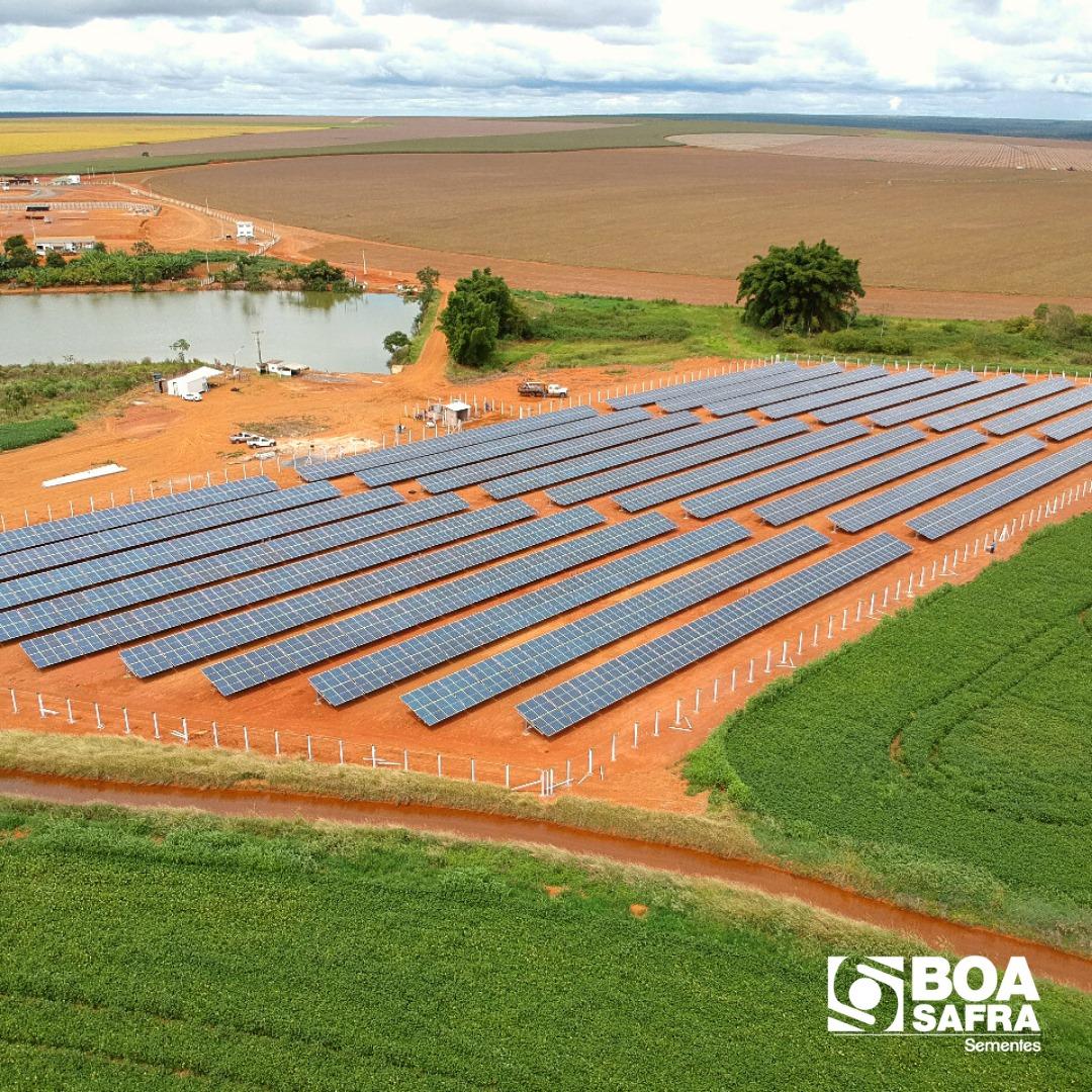 Conheça nossa usina fotovoltaica localizada na Unidade 3, em Cabeceiras/GO