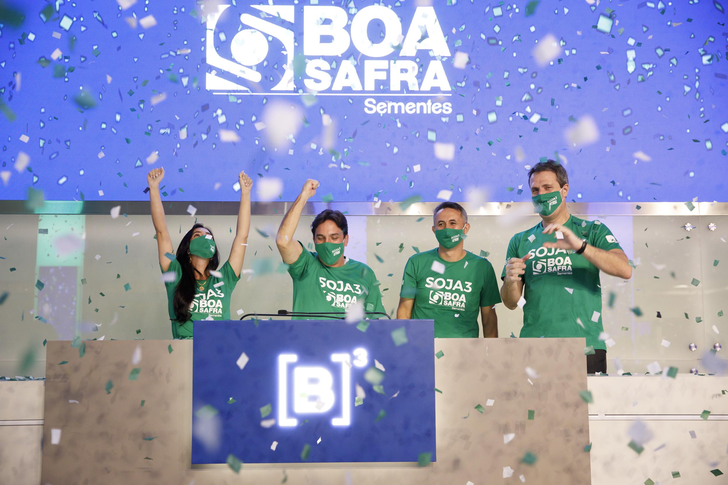 Boa Safra anuncia a sua entrada na Bolsa de Valores