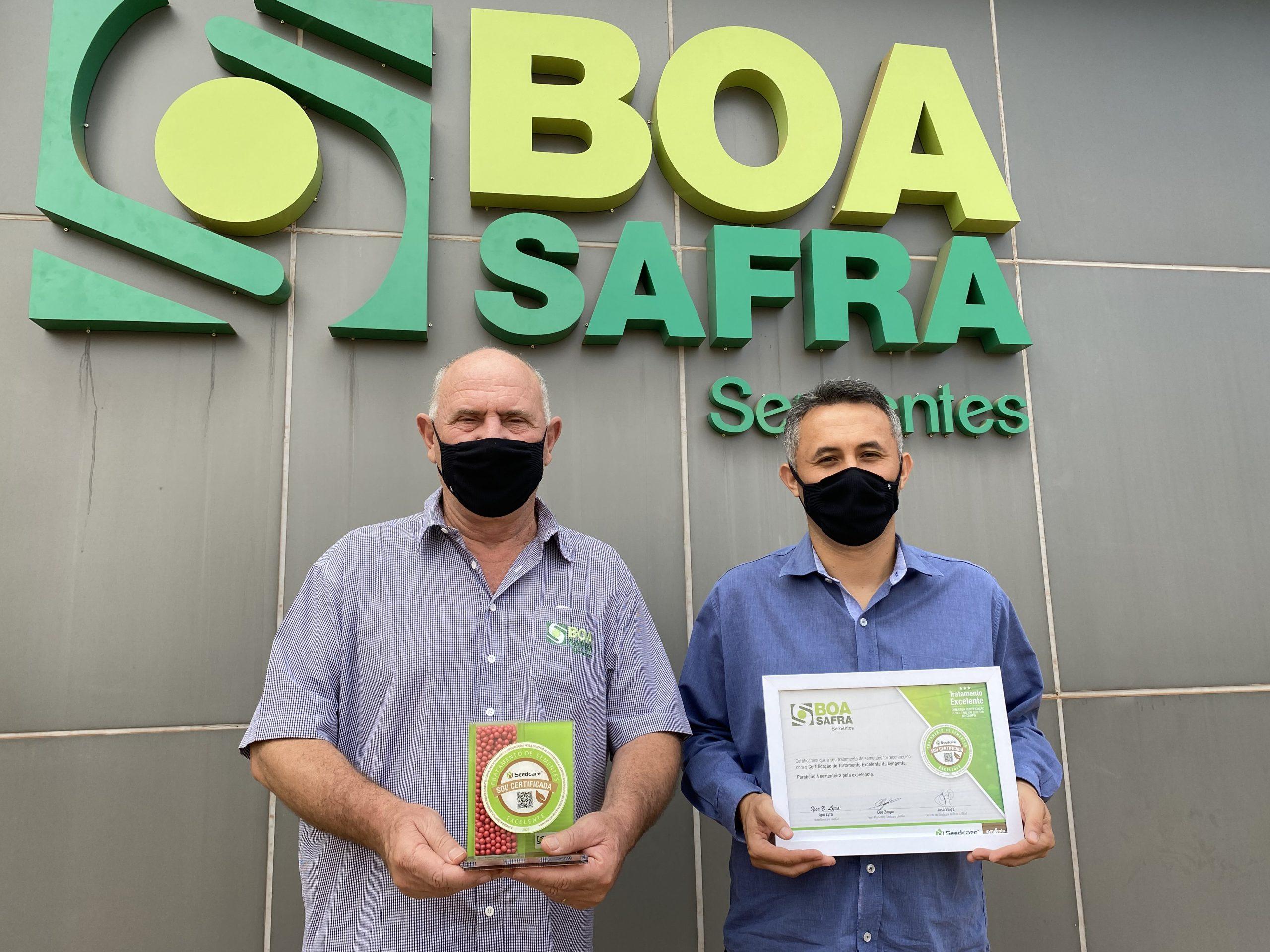 Boa Safra recebe certificação de excelência em Tratamento de Sementes Seedcare